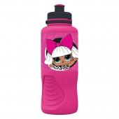Бутылка пластиковая (спортивная, эрогономичная, 400 мл). LOL