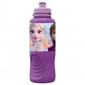 Бутылка пластиковая (спортивная, эрогономичная, 400 мл). Холодное сердце 2