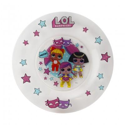 L.O.L. Surprise! Тарелка «Дизайн 1», 19,5 см, стекло