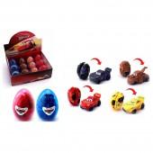 Яйца-трансформеры «Тачки» с маркировкой Disney/Pixar  в ассортименте