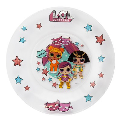 L.O.L. Surprise! Тарелка «Дизайн 2», 19,5 см, стекло
