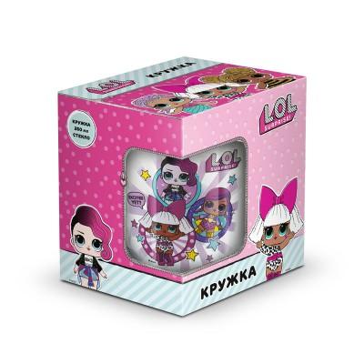 L.O.L. Surprise! Кружка «Дизайн 2», в подарочной упаковке, 250 мл, стекло