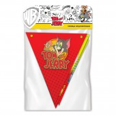 "Tom&Jerry. Гирлянда поздравительная ""Персонажи"" (флажки)"