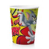 Tom&Jerry. Набор бумажных стаканов, 6 шт*250 мл