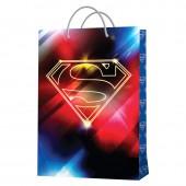 Superman. Пакет подарочный большой-2, 220*310*100 мм