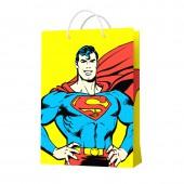 Superman. Пакет подарочный малый-2, 180*227*100 мм