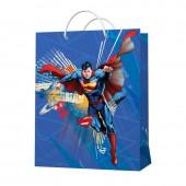 Superman. Пакет подарочный малый-3, 180*227*100 мм