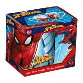 Кружка керамическая в подарочной упаковке (220 мл). Человек-паук Улицы