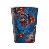 Superman. Набор бумажных стаканов-1, 6 шт*250 мл