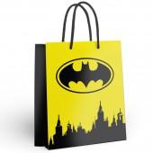 Batman. Пакет подарочный большой (желтый), 335*406*155 мм