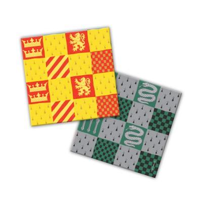 Harry Potter. Салфетки бумажные трехслойные 33*33 см, 20 шт (паттерны)