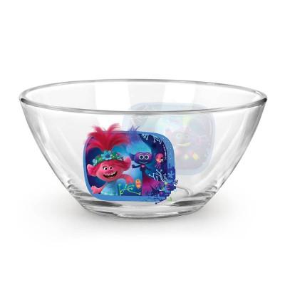 Салатник «Тролли 2» Серия Техно, 12,5 см, стекло