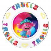 Тарелка «Тролли 2» Серия Поп, 19,5 см, стекло