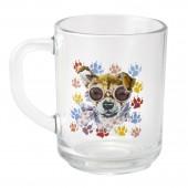 """Кружка """"Породы собак"""" Чихуахуа, 250 мл,стекло"""