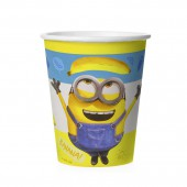 Minions 2. Набор бумажных стаканов, 6 шт*250 мл (3D дизайн)