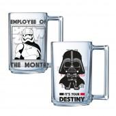 "Набор кружек ОСЗ. ""Star Wars Darth Vader. Stormtrooper"", Фитнес (320 мл, 2 шт)"