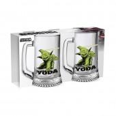 "Дисней Кружка ""Ладья"" 500 мл ""Star Wars Yoda"", 2 шт."