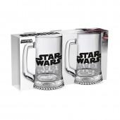 """Дисней Кружка """"Ладья"""" 500 мл """"Star Wars Logo"""", 2 шт."""