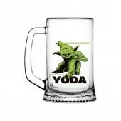 "Дисней Кружка ""Ладья"" 500 мл ""Star Wars Yoda"""