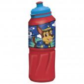 Бутылка пластиковая (спортивная 530 мл). Щенячий патруль. Веселый