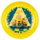 Тарелка «Миньоны 2 - Веселая компания» (20 см), пластик