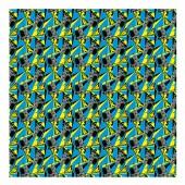 Batman. Упаковочная бумага DC Comics Batman (голубая с желтым), 700*1000 мм, 2 шт в рулоне