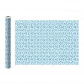 LOL. Упаковочная бумага (светло-голубая в полоску), 700*1000 мм, 2 шт в рулоне (EV_19)