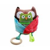 Skip*Hop. Обучающая игрушка (10 игр, от 3-х месяцев). Сова с совенком