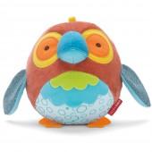Skip*Hop. Развивающий мячик с бубенчиком (с рождения). Попугайчик