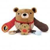 Skip*Hop. Обучающая игрушка (10 игр, от 3-х месяцев). Мишка с медвеженком