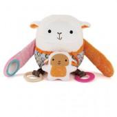 Skip*Hop. Обучающая игрушка (10 игр, от 3-х месяцев). Овечка с барашком
