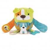 Skip*Hop. Обучающая игрушка (10 игр, от 3-х месяцев). Собачка со щенком