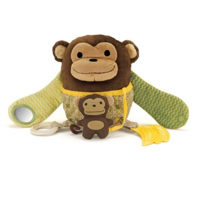Skip*Hop. Обучающая игрушка (10 игр, от 3-х месяцев). Обезьяна с обезьянкой