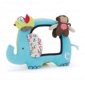 Skip*Hop. Развивающая игрушка-зеркальце. Слоненок и друзья