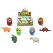 Игрушка Яйцо-трансформер «Жители дикой природы» в ассортименте (12 ед. в упаковке)