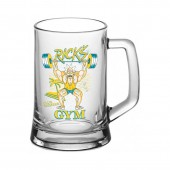 "Кружка для пива ""Ладья"" 500 мл ""Рик и Морти"" Rick's gym"