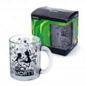 """Кружка чайная 320 мл """"Рик и Морти"""" в подарочной упаковке"""