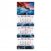 """Календарь квартальный """"Родные просторы. Маркет"""" на 2021 год"""