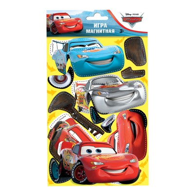 """Магнитная игра """"Тачки - Молния Маккуин """" с маркировкой Disney/Pixar"""