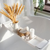 """Полка для ванной """"Basic"""", цвет белый"""