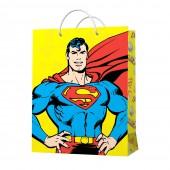 Пакет подарочный большой Superman-4, 335*406*155 мм