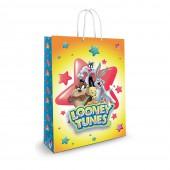Пакет подарочный большой Looney Tunes-1, 335*406*155 мм
