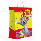Пакет подарочный большой Tom&Jerry-1, 335*406*155 мм