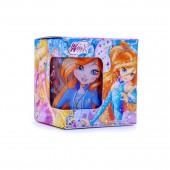 """Кружка """"Winx Club"""" Феи Флора и Блум, в подарочной упаковке, 230 мл, стекло"""