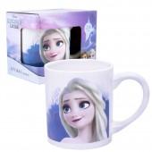 """Кружка в подарочной упаковке 220 мл """"Frozen II"""" (Холодное сердце 2) Дизайн 1, фарфор"""
