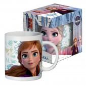 """Кружка в подарочной упаковке 220 мл """"Frozen II"""" (Холодное сердце 2) Дизайн 3, фарфор"""