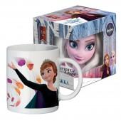"""Кружка в подарочной упаковке 220 мл """"Frozen II"""" (Холодное сердце 2) Дизайн 4, фарфор"""