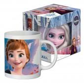 """Кружка в подарочной упаковке 220 мл """"Frozen II"""" (Холодное сердце 2) Дизайн 5, фарфор"""