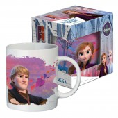 """Кружка в подарочной упаковке 220 мл """"Frozen II"""" (Холодное сердце 2) Дизайн 6, фарфор"""