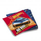 Hot Wheels. Салфетки бумажные трехслойные 33*33 см, 20 шт